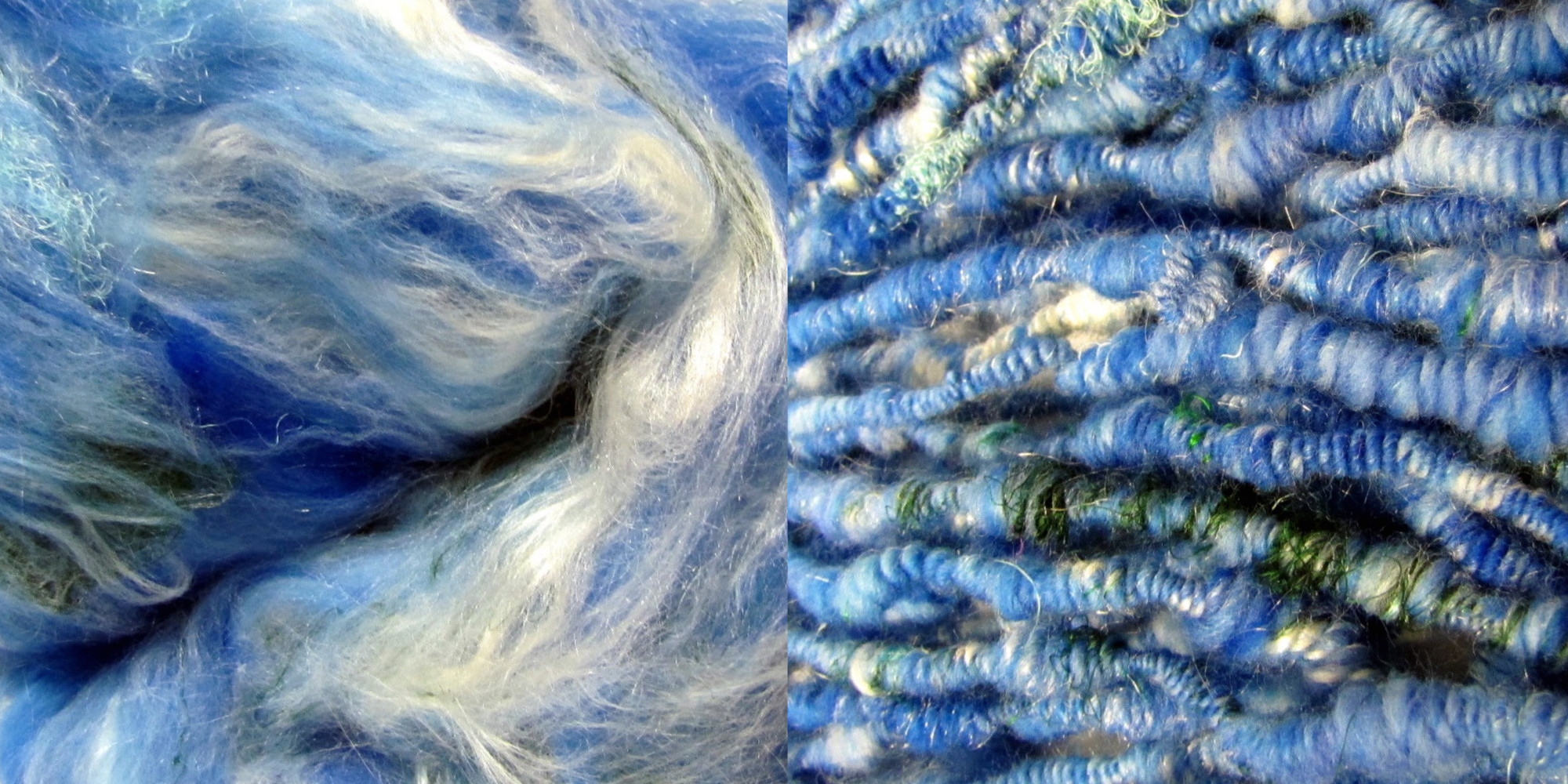 Handspun Earth Yarn