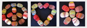 Peace Love Felted Soap by The Twisted Purl