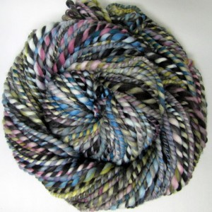 Handspun straight from Hand Painted Roving