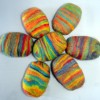 Brightly Colored Felted Soap
