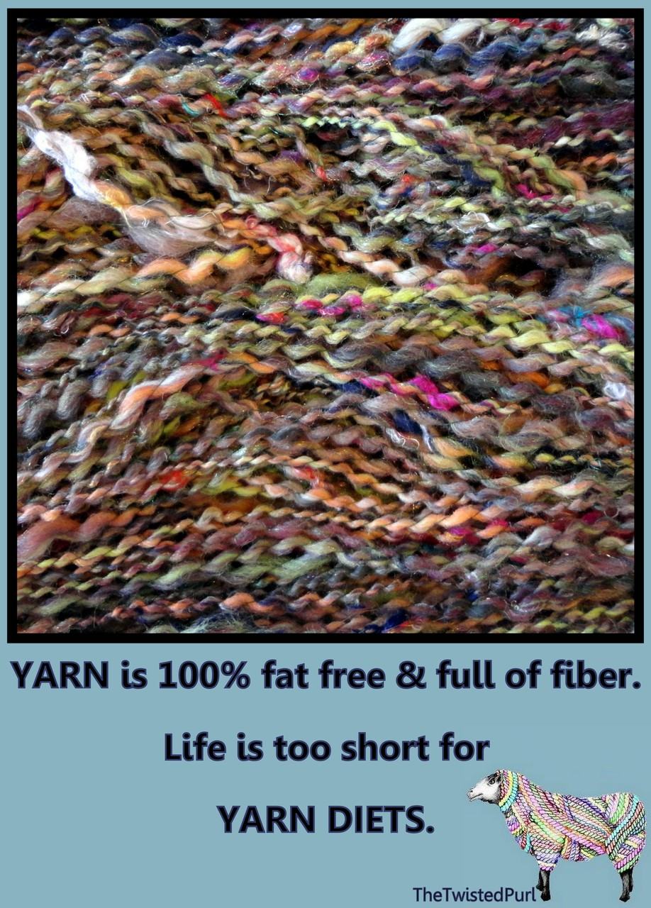 Yarn Diet?  No Way!!!