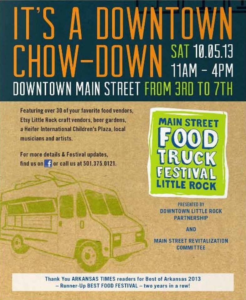 Main Street Food Truck Festival Little Rock