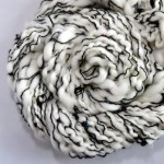 White and Black Handmade Yarn