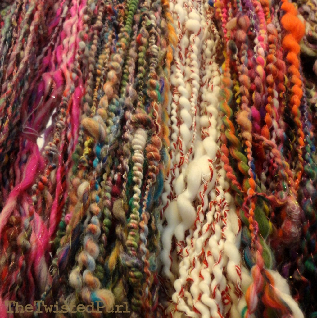 Lots of Handmade Yarn by The Twisted Purl
