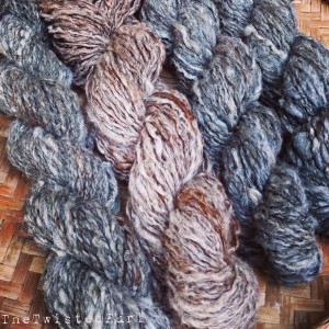 Four Skeins of Beautiful Alpaca