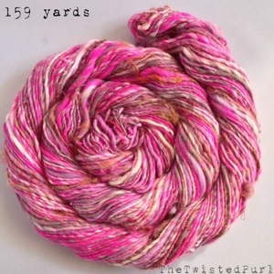 159 Yards of Handspun Yarn for Spinzilla