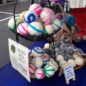 Wool Dryer Balls by The Twisted Purl