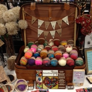 Inside Felted Soap Display