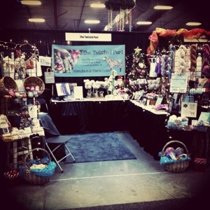 Dazzle Daze Craft Booth Set Up