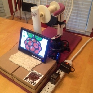 Raspberry Pi Spinning Wheel