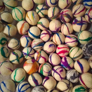 Felted Dryer Balls