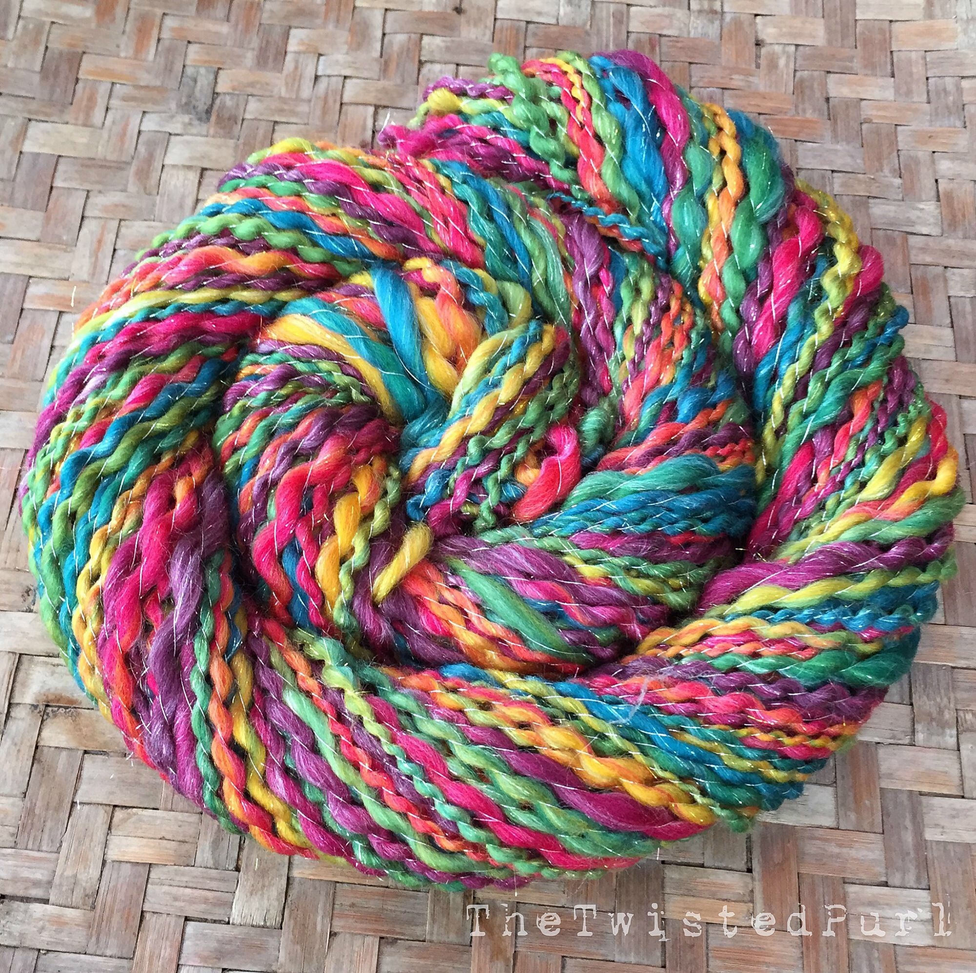 Handspun Yarn made by The Twisted Purl