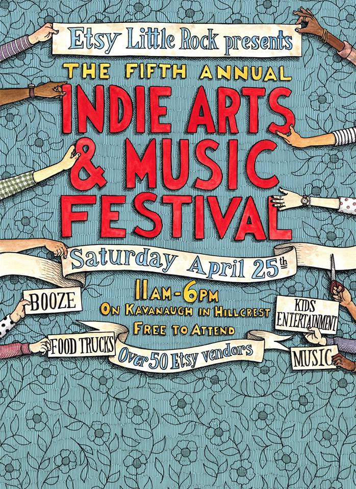 Little Rock Etsy Indie Fest 2015