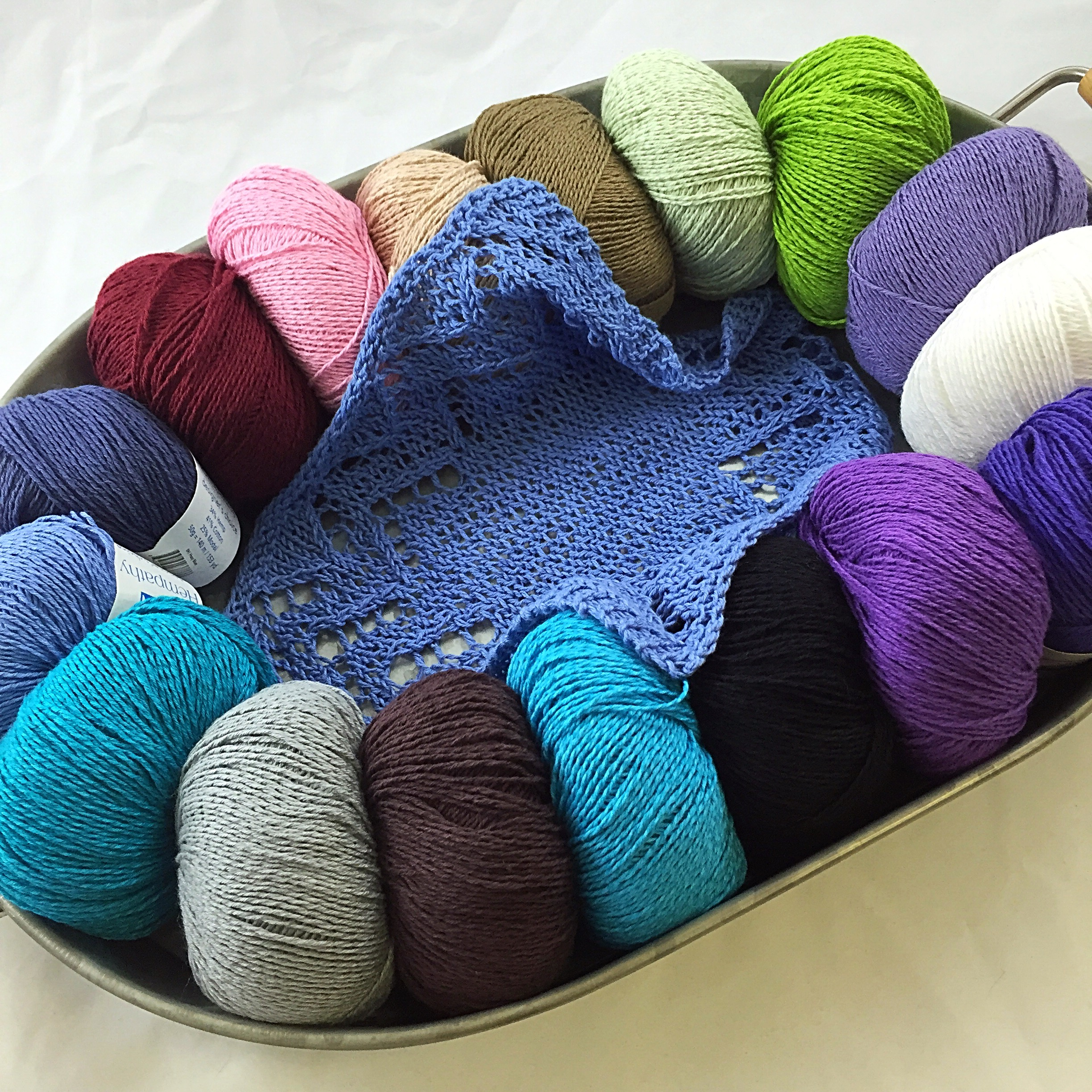 Knitting Classes : Lace Knitting Class Fee - Twisted Purl