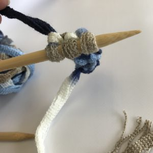 Knitting an Icord