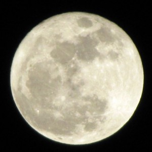 Supermoon March 24, 2011