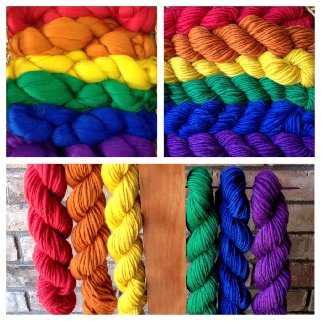 From Top Wool to Handpsun Yarn by The Twisted Purl