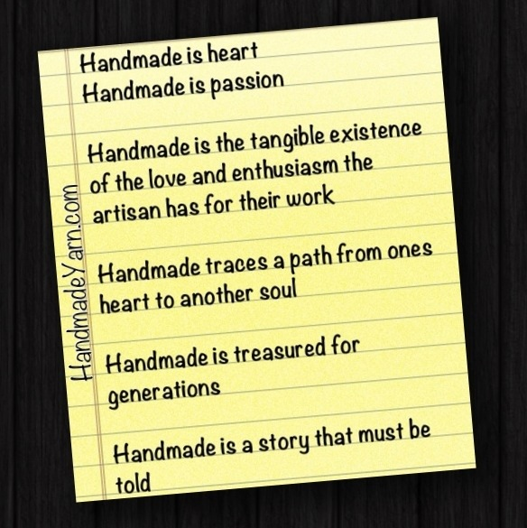 Handmade is a story that MUST be told