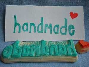 Handmade Stamp made by StudioMo on Etsy