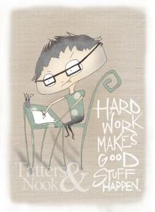 Hard Work by TattersandNook on Etsy