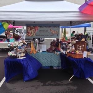 Rainy Day Craft Fair Set Up