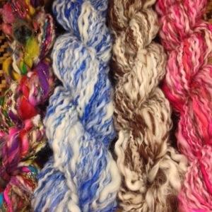 New Yarn Spun during Dazzle Daze 2013