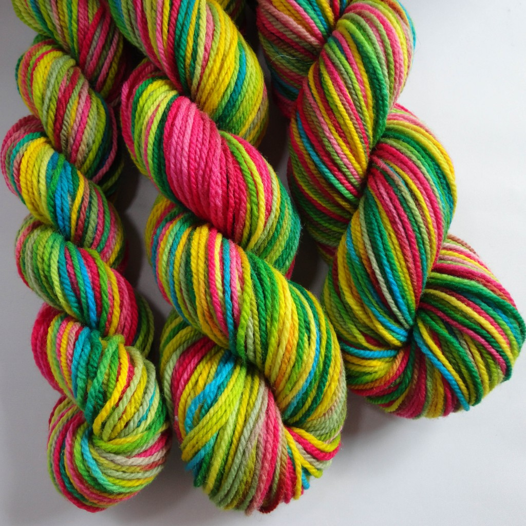 How To Hand Paint Yarn With Acid Dyes