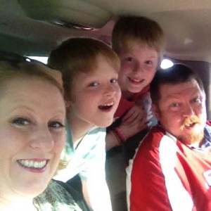 Family on way to Raspberry Pi Bakeoff
