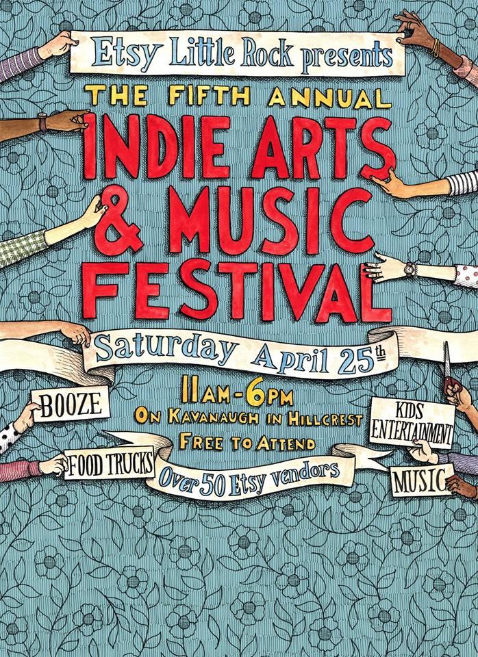 Little Rock Etsy Indie Fest 2015
