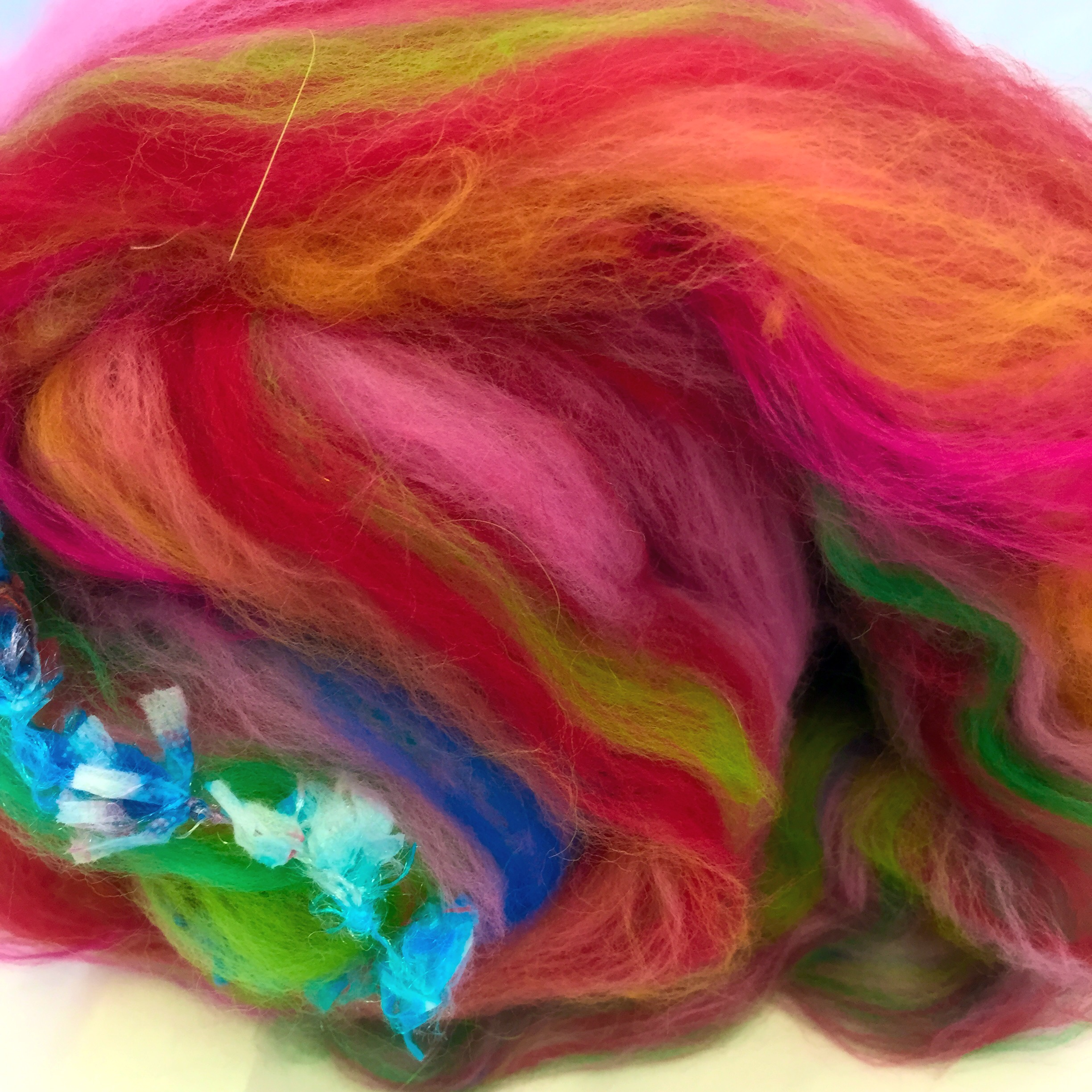 Twisted Purl carded batt